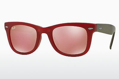 Ophthalmic Glasses Ray-Ban FOLDING WAYFARER (RB4105 6050Z2) - Red