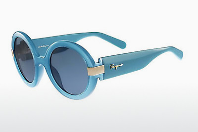 Ophthalmic Glasses Salvatore Ferragamo SF778S 402 - Blue