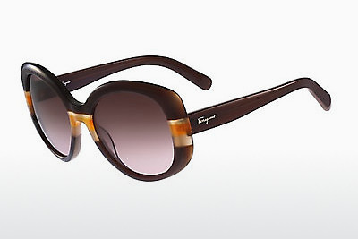 Ophthalmic Glasses Salvatore Ferragamo SF793S 230 - Brown, Orange