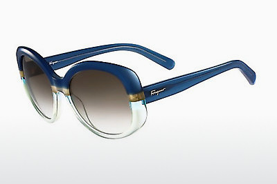 Ophthalmic Glasses Salvatore Ferragamo SF793S 447 - Blue