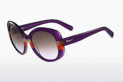 Ophthalmic Glasses Salvatore Ferragamo SF793S 506 - Purple, Orange