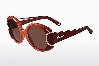 Ophthalmic Glasses Salvatore Ferragamo SF811S SIGNATURE 811 - Orange