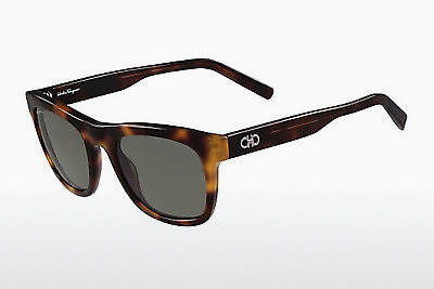 Ophthalmic Glasses Salvatore Ferragamo SF825SG 214 - Havanna