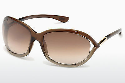 Ophthalmic Glasses Tom Ford Jennifer (FT0008 38F) - Brown