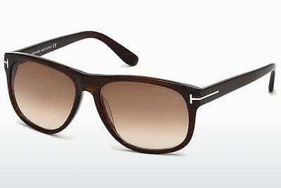 Lunettes de soleil Tom Ford Olivier (FT0236 50P) - Brunes, Dark