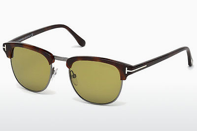 Lunettes de soleil Tom Ford Henry (FT0248 52N) - Brunes, Dark, Havana