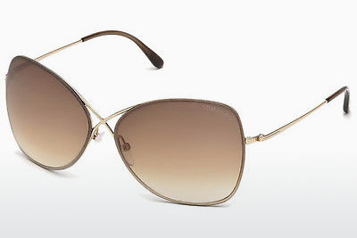 Lunettes de soleil Tom Ford Colette (FT0250 28F) - Or