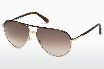 Lunettes de soleil Tom Ford Cole (FT0285 52K) - Brunes, Dark, Havana