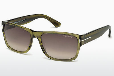 Lunettes de soleil Tom Ford Mason (FT0445 95K) - Vertes, Bright