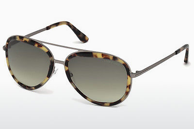 Lunettes de soleil Tom Ford FT0468 53P - Havanna, Yellow, Blond, Brown