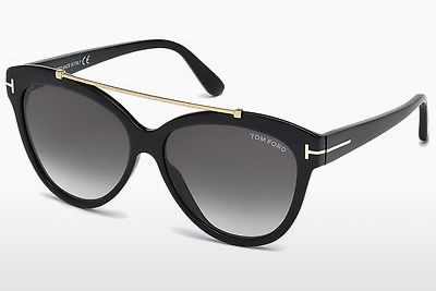 Ophthalmic Glasses Tom Ford Livia (FT0518 01B) - Black, Shiny