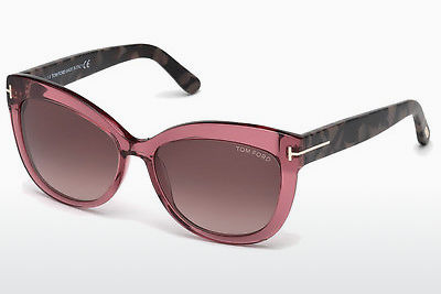 Lunettes de soleil Tom Ford Alistair (FT0524 74T) - Rose, Rosa