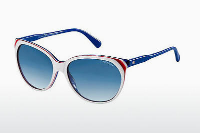 Ophthalmic Glasses Tommy Hilfiger TH 1315/S VN6/08 - White, Red, Blue
