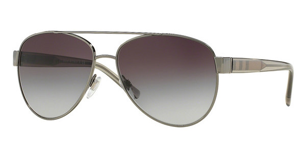 Burberry   BE3084 10038G GRAY GRADIENTGUNMETAL
