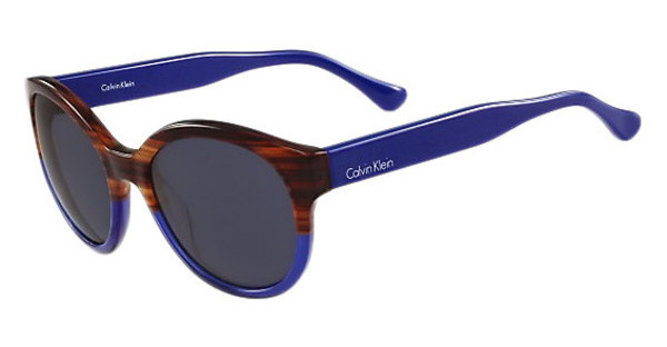 Calvin Klein CK4313S 508 STRIPED HAVANA BLUE