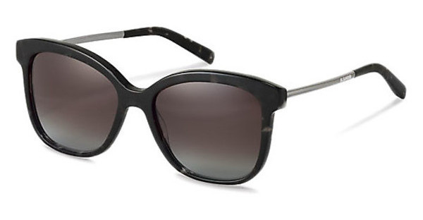 Jil Sander J3012 B brown gradient 84%black havana, gun