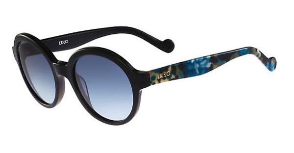 Liu Jo LJ630S 001 EBONY WITH FLOWERS