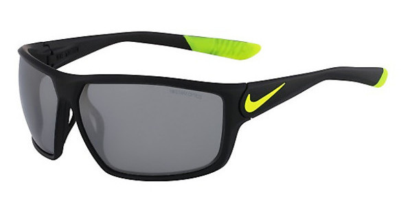 Nike NIKE IGNITION EV0865 007 MATTE BLACK/VOLT WITH GREY W/SILVER FLASH LENS