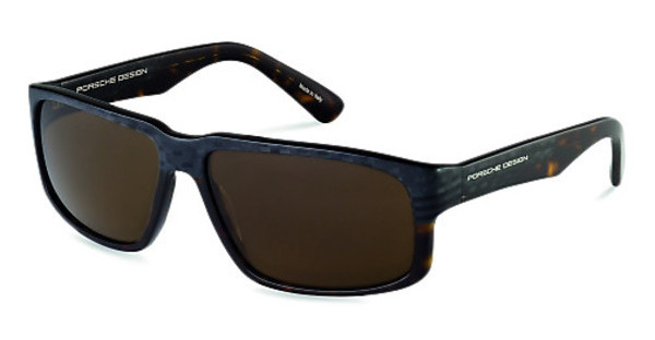 Porsche Design P8547 B browncarbon, dark brown havana