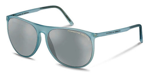 Porsche Design P8596 D mercury, silver mirroredlight blue