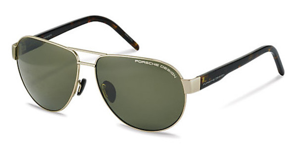 Porsche Design P8632 B Polarized green grey 90%