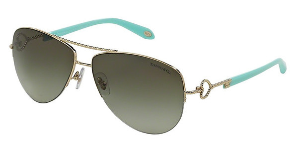 Tiffany TF3046 60213M GREEN GRADIENTPALE GOLD