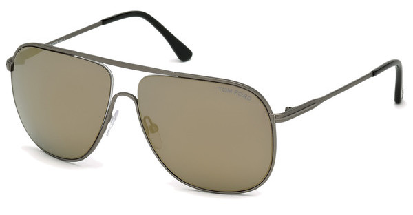 Tom Ford FT0451 09C grau verspiegeltanthrazit matt