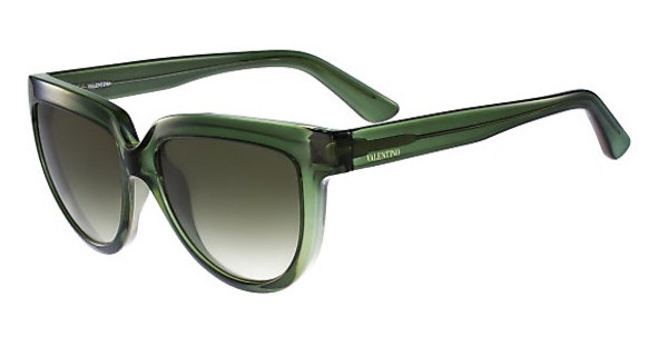 Valentino V724S 300 TRANSPARENT GREEN