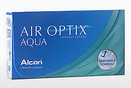Lentilles de contact Alcon AIR OPTIX AQUA (AIR OPTIX AQUA AOA6)