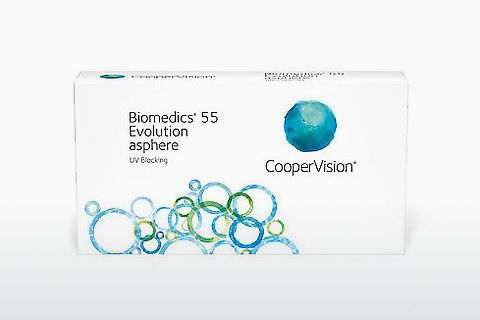 Lentilles de contact Cooper Vision Biomedics 55 Evolution BMEU6