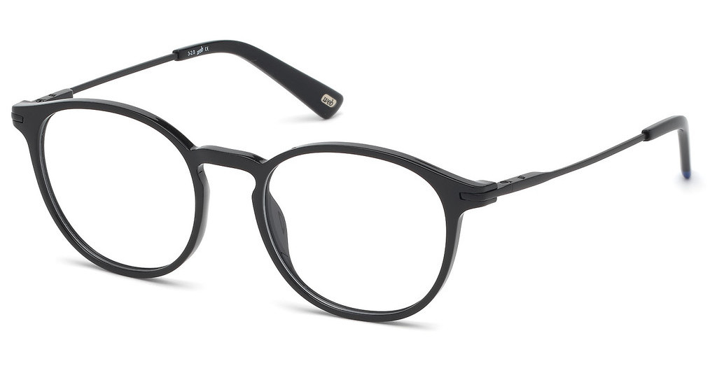 Web Eyewear   WE5296 001 schwarz glanz