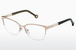 Lunettes design Carolina Herrera VHE091 0S36 - Or