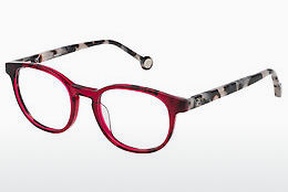 Lunettes design Carolina Herrera VHE715 0999 - Rouges, Transparentes