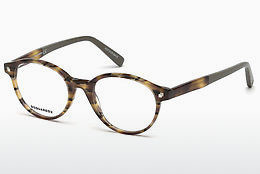 Lunettes design Dsquared DQ5227 053 - Havanna, Yellow, Blond, Brown