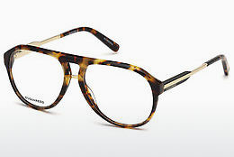 Lunettes design Dsquared DQ5242 053 - Havanna, Yellow, Blond, Brown