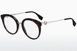 Eyewear Fendi FF 0303 086 - Brown, Havanna