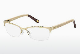 Eyewear Fossil FOS 6017 NF2 - Gold, White, Brown, Havanna