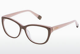 Eyewear Furla VFU003 07L7 - Brown, White