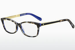 Lunettes design Kate Spade ANGELISA S5A - Bleues, Brunes, Havanna, Or