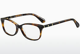Lunettes design Kate Spade KAILEIGH 086 - Brunes, Havanna