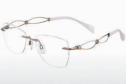 Lunettes design LineArt XL2104 GP - Or
