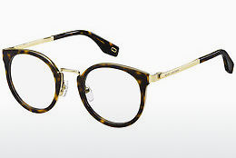 Lunettes design Marc Jacobs MARC 269 2IK - Or, Brunes, Havanna