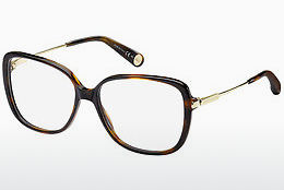 Lunettes design Marc Jacobs MJ 494 8NQ - Or, Brunes, Havanna
