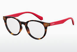 Lunettes design Polaroid Kids PLD D814 O63 - Rouges, Brunes, Havanna