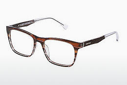 Eyewear Police CLOSE UP 6 (VPL056 0C00) - Brown, Havanna