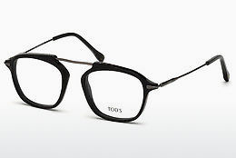 Lunettes design Tod's TO5182 001 - Noires, Shiny