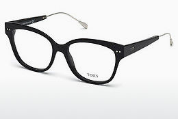 Lunettes design Tod's TO5191 001 - Noires, Shiny