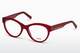 Lunettes design Tod's TO5193 066 - Rouges, Shiny