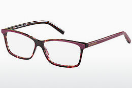 Lunettes design Tommy Hilfiger TH 1123 4KQ - Rouges, Brunes, Havanna