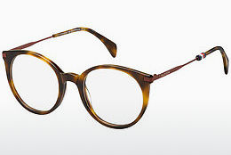 Lunettes design Tommy Hilfiger TH 1475 SX7 - Brunes, Havanna